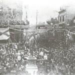 statue of joseph pease unvailed 28th Sept 1875